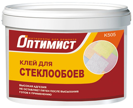 """Клей д/стеклообоев""""ОПТИМИСТ"""" (10кг)"""