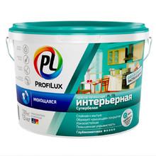 """""""Профилюкс"""" ВД краска моющаяся д/ванной и кухни износоуст. супербелая PL-13L (13кг)"""