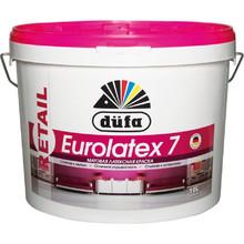Краска ВД DUFA RETAIL EUROLATEX 7 (2.5 л.) моющаяся матовая для потолка и стен