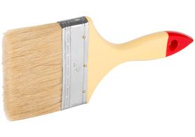 """Кисть флейцевая Стандарт-универсал 1,5""""(38мм) Смешанная щетина, пластиковая рукоятка Hobbi 01-7-215"""