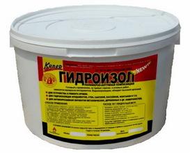 ПБК Гидроизол 10л (полимерно-битумная композиция)