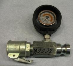 Манометр давления раствора 25 мм с соедин арт 102227