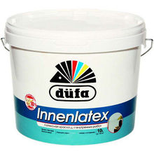 Краска ВД DUFA RETAIL INNENLATEX база 1 (10 л.) влагостойкая латексная для потолков и стен