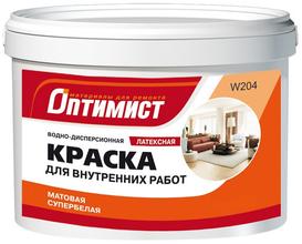 """В-Д """"ОПТИМИСТ"""" для потолка с/белая ,латексная (22кг)"""