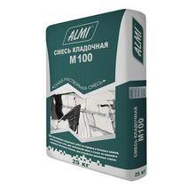 """Смесь """"АЛМИ  М-100"""" (25кг)/56  кладочная цементно-песчанная"""