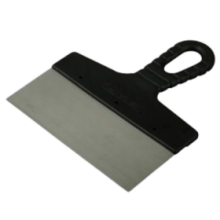 Шпатель Мастер прямой 350мм  Нержавеющая сталь, пластиковая рукоятка 12-5-350