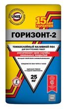 """Пол """"ЮНИС  Горизонт-2 """" ровнитель  для пола (25кг)/48"""