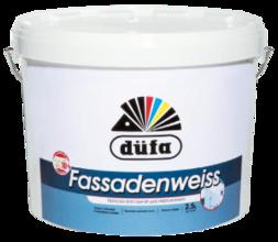 Краска ВД DUFA RETAIL FASSADENWEISS база 1 (10 л.) фасадная