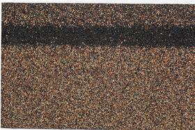 Гибкая черепица Коньково-карнизная (4K4E21-0437) БРОНЗОВЫЙ микс 253 х 1003 х 40мм уп.12 шт/3 м2