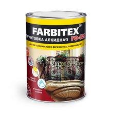 Грунт ГФ-021 красно-коричневый 20 кг (FARBITEX)