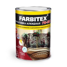 Грунт ГФ-021 серый 1,8 кг (FARBITEX)