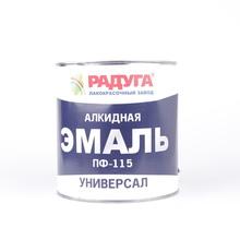 """Эмаль ПФ-115 """"Радуга""""  серая   (2,7  кг)"""