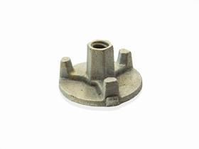 Гайка D90 мм сталь оцинкованная/арт 206794//207587