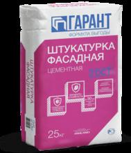 """Штукатурка фасадная """"ГП Гарант"""" цементная (25кг) /56"""