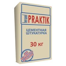 """Шпаклевка """"BERGAUF PRAKTIK"""" (30)/49 гипсовая для машинного нанесения NEW !!!"""