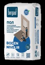 """Пол """"BERGAUF  Boden Nivelir"""" (25 кг)/56   наливной финишн. самонивелир."""
