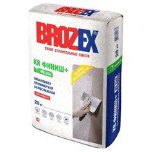 "Шпаклёвка ""BROZEX WR 650 KR Финиш+"" (20 кг)/56  полимерная белая"