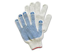 Перчатки вязаные 5  нитей, х/б с ПВХ покрытием