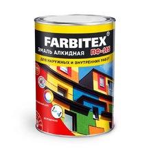 Эмаль ПФ-115 белая матовая 20 кг (FARBITEX)