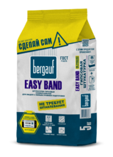 "Штукатурка ""BERGAUF Easy Band"" (5кг) /6 универсальная гипсовая штукатурка"