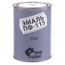 """Эмаль """"ЛАТЭК"""" ПФ-115 серая (0,9  кг)"""