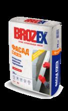 """Штукатурка """"BROZEX CP 320 Фасад"""" (25кг)/48 цементная"""