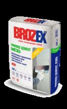 """Шпатлевка """"BROZEX WR 75 Финиш цемент"""" (20кг)/56 белая для наруж. и внутр. работ"""