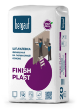 "Шпаклёвка "" BERGAUF  Finish Plast"" (20 кг)/64  полимерная"