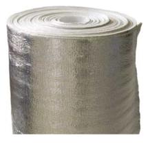 """Изолон """"НПЭ 2  дублированный метал. пленкой""""  50*1,05  2 мм (52,5 м2), плотность 26 кг/м3"""