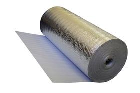 """Изолон """"НПЭ 5  дублированный метал. пленкой""""  50*1,05  5 мм (52,5 м2), плотность 26 кг/м3"""