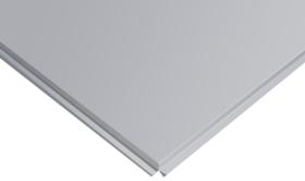 Плита потолочная Cesal Т24 кромка Line(прямая)  595*595 белый мат 36 шт/12,96 м2