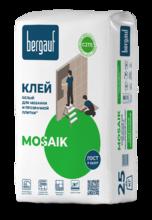 """Клей """"BERGAUF  MOSAIK"""" (25кг)/56  белый"""