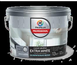 """""""Профилюкс Профессионал"""" EXTRA WHITE ВД краска акрил. для стен и потолков ослепительно белая (13кг)"""