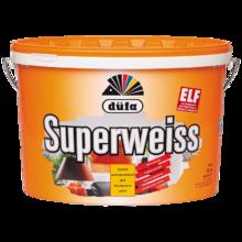 Краска ВД DUFA SUPERWEISS RD4 (10 л.) для потолка и стен супербелая матовая