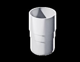 Муфта трубы Белый 117*82*82